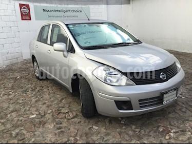 Foto venta Auto Seminuevo Nissan Tiida Sedan Sense (2017) color Plata precio $153,000