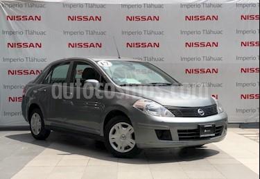 Foto venta Auto Seminuevo Nissan Tiida Sedan Sense (2017) color Gris Oxford precio $165,000