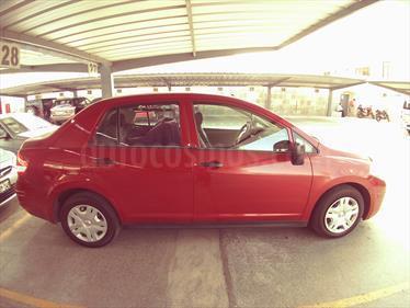 Nissan Tiida Sedan SL 1.6L usado (2015) color Rojo precio u$s11,000