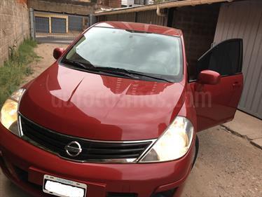Foto venta Auto usado Nissan Tiida Visia (2011) color Rojo Aden precio $160.000