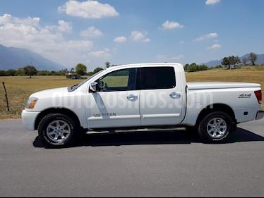 Foto venta Auto usado Nissan Titan Crew Cab 4x4 LE (2007) color Blanco precio $175,000