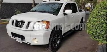 Foto venta Auto Usado Nissan Titan Crew Cab 4x4 S (2013) color Blanco precio $178,000