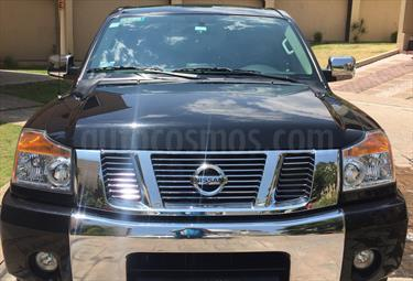Foto venta Auto Usado Nissan Titan Crew Cab 4x4 SL (2015) color Negro precio $410,000
