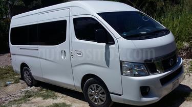 Foto venta Auto Seminuevo Nissan Urvan 15 Pas Amplia Pack Seguridad Die (2015) color Blanco precio $320,000