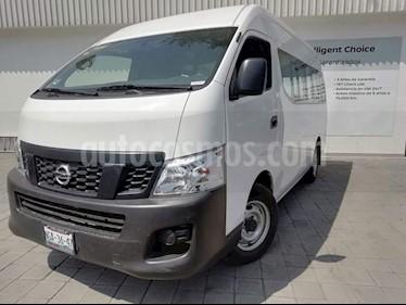 Foto venta Auto Usado Nissan Urvan DX Larga 15 Pas Ac (2017) color Blanco Alaska precio $375,000