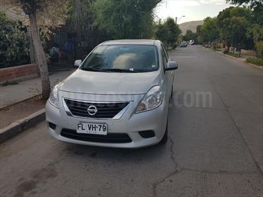 Foto venta Auto usado Nissan Versa 1.6L Sense (2013) color Plata precio $6.000.000