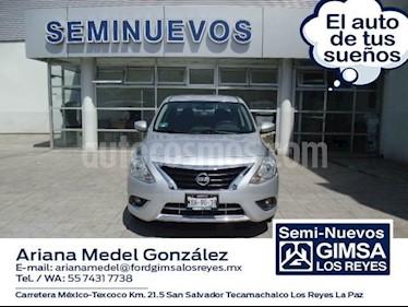Foto venta Auto Usado Nissan Versa ADVANCE A/T A/C 1.6L (2016) color Plata precio $177,000
