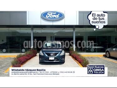 Foto venta Auto Usado Nissan Versa ADVANCE A/T A/C 1.6L (2016) color Azul precio $153,000