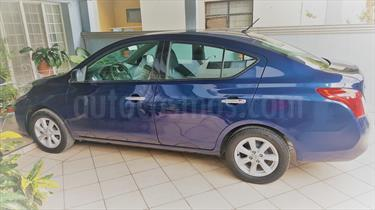 Foto venta Auto Usado Nissan Versa Advance Aut  (2014) color Azul precio $144,000