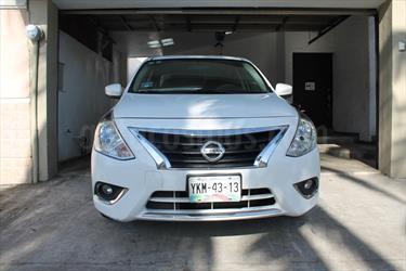 Foto venta Auto Usado Nissan Versa Advance Aut (2015) color Blanco precio $159,000