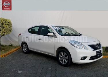 Foto venta Auto Seminuevo Nissan Versa Advance Aut (2014) color Blanco precio $155,000