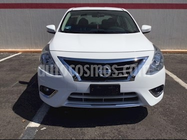 Foto venta Auto Seminuevo Nissan Versa Advance Aut (2018) color Blanco precio $220,000