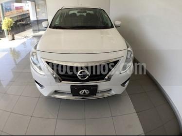 Foto venta Auto Seminuevo Nissan Versa Advance Aut (2018) color Blanco precio $210,000