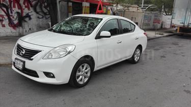 Foto venta Auto Usado Nissan Versa Advance (2012) color Blanco precio $105,000