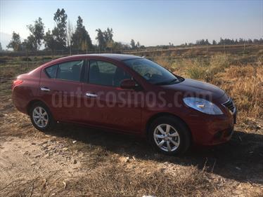 Foto venta Auto usado Nissan Versa Advance (2013) color Rojo Perla precio $6.500.000