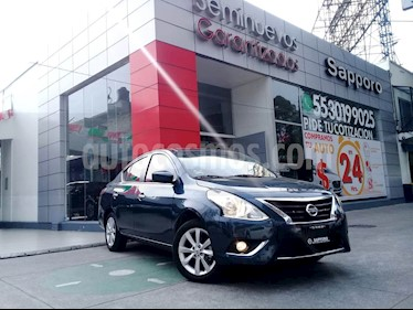 Foto venta Auto Seminuevo Nissan Versa Advance (2017) color Azul precio $210,000