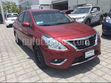 Foto venta Auto Seminuevo Nissan Versa Advance (2017) color Rojo precio $213,000