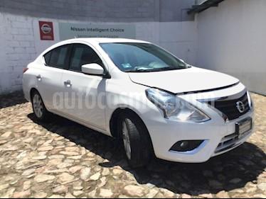Foto venta Auto Seminuevo Nissan Versa Advance (2018) color Blanco precio $210,000