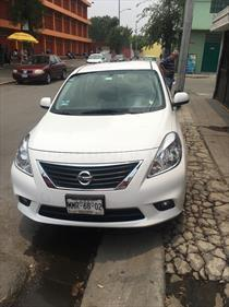 Foto venta Auto Usado Nissan Versa Exclusive Aut (2013) color Blanco precio $134,800