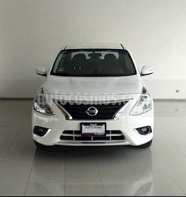 Foto venta Auto Usado Nissan Versa Exclusive Aut (2018) color Blanco precio $245,000