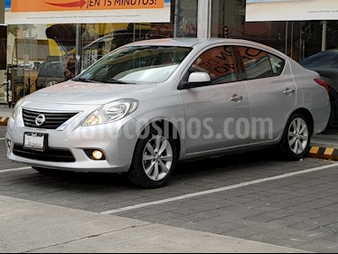 Foto venta Auto Usado Nissan Versa Exclusive Aut  (2014) color Plata precio $159,000