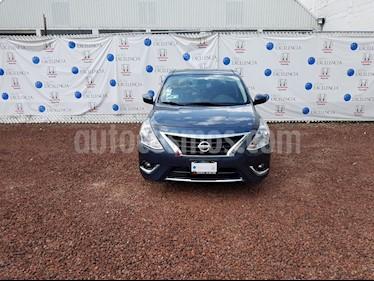 Foto venta Auto Usado Nissan Versa Exclusive Aut  (2017) color Azul precio $230,000
