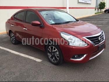 Foto venta Auto Seminuevo Nissan Versa Exclusive Aut (2017) color Rojo precio $195,000