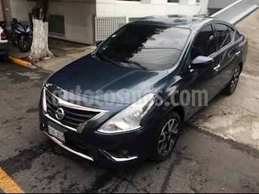Foto venta Auto Seminuevo Nissan Versa EXCLUSIVE NAVI A/T A/C 1.6L (2016) color Azul precio $189,900