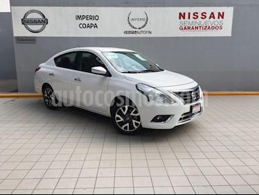 Foto venta Auto Usado Nissan Versa Exclusive NAVI Aut (2018) color Blanco precio $229,000