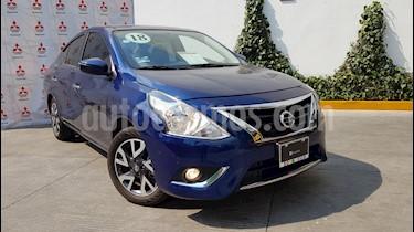 Foto venta Auto Usado Nissan Versa Exclusive NAVI Aut (2018) color Azul precio $239,000