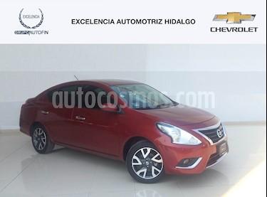Foto venta Auto Usado Nissan Versa Exclusive NAVI Aut (2018) color Rojo precio $245,000