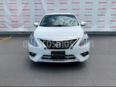 Foto venta Auto Usado Nissan Versa Exclusive NAVI Aut (2018) color Blanco precio $225,000