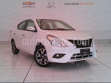 Foto venta Auto Usado Nissan Versa Exclusive NAVI Aut (2018) color Blanco precio $220,000