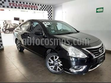 Foto venta Auto Usado Nissan Versa Exclusive NAVI Aut (2015) color Negro precio $155,000