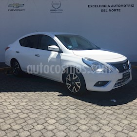 Foto venta Auto Usado Nissan Versa Exclusive NAVI Aut (2018) color Blanco Nieve precio $229,000