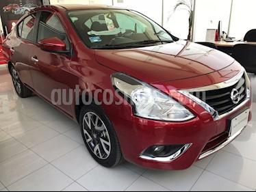 Foto venta Auto Usado Nissan Versa Exclusive NAVI Aut (2018) color Rojo precio $225,000
