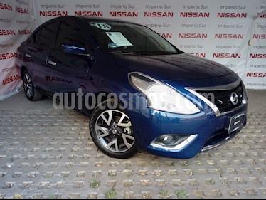 Foto venta Auto Usado Nissan Versa Exclusive NAVI Aut (2018) color Azul precio $228,900