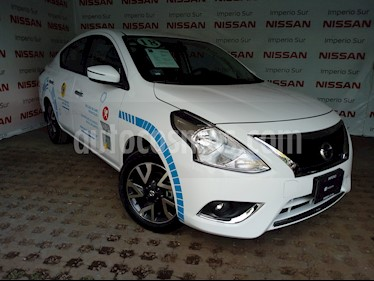 Foto venta Auto Seminuevo Nissan Versa Exclusive NAVI Aut (2018) color Blanco precio $248,000
