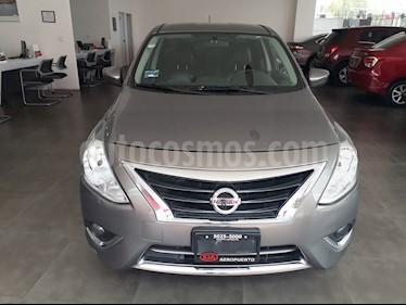 Foto venta Auto Usado Nissan Versa Exclusive NAVI Aut (2016) color Gris Oscuro precio $179,000