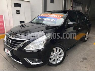 Foto venta Auto Usado Nissan Versa Exclusive NAVI Aut (2017) color Negro precio $205,000