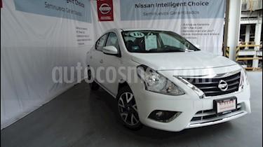 Foto venta Auto Seminuevo Nissan Versa Exclusive NAVI Aut (2018) color Blanco Alpine precio $225,000