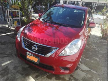 Foto venta Auto usado Nissan Versa Sense Aut   (2014) color Rojo precio $145,000