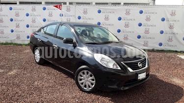 Foto venta Auto Usado Nissan Versa Sense Aut  (2013) color Negro precio $120,000