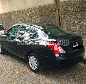 Foto venta Auto Usado Nissan Versa Sense Aut   (2013) color Negro precio $119,000