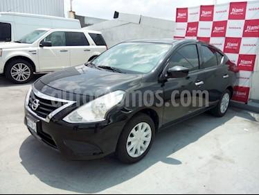 Foto venta Auto Seminuevo Nissan Versa Sense Aut (2018) color Negro precio $205,000
