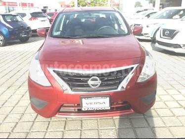 Foto venta Auto Seminuevo Nissan Versa Sense Aut (2016) color Rojo Burdeos precio $160,000