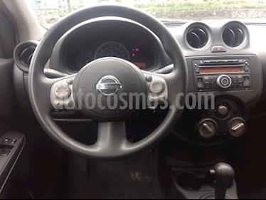 Foto venta Auto Seminuevo Nissan Versa Sense Aut (2012) color Plata precio $120,000