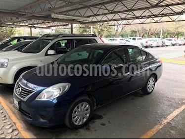 Foto venta Auto usado Nissan Versa Sense Aut   (2014) color Azul precio $135,000