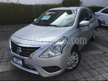 Foto venta Auto Usado Nissan Versa SENSE M/T A/C 1.6L (2016) color Plata precio $160,000