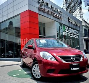 Foto venta Auto Usado Nissan Versa Sense  (2013) color Rojo Burdeos precio $140,000